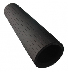 Cellular rubber sleeve